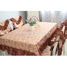 300D impresso 180cm 270g / m mini tecido mate para toalha de mesa
