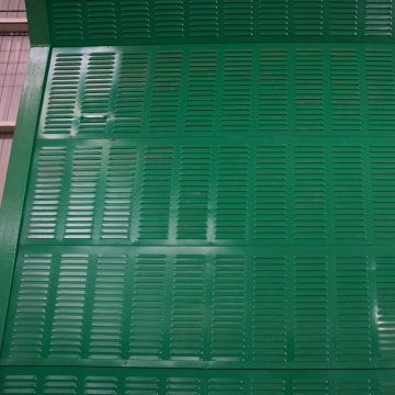 Dalvanized Dound Barrier Powder Coating Noise Barrier