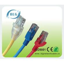 Colores del cable lan del utp cat5e