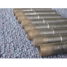 fábrica de suministro broca de 64 mm / sinterización diamante y bronce Taladro broca de vástago/cónico-bit / pedacito de taladro para perforar vidrio del diamante