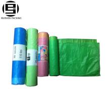 ЭПИ биоразлагаемые цветные одноразовые пластиковые мешки для мусора