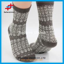 2015 Ретро мужские повседневные теплые трикотажные носки