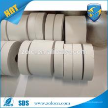 QC Pass Impreso adhesivo directo en blanco papel termal etiqueta de código rollo de etiquetas para la venta entera