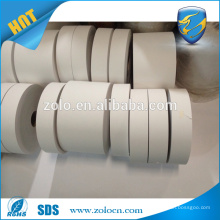 QC Pass Printable adhesive direct blank thermal paper bar code label roll for whole sale
