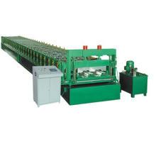 Rollo de cubierta de piso de metal que forma la máquina