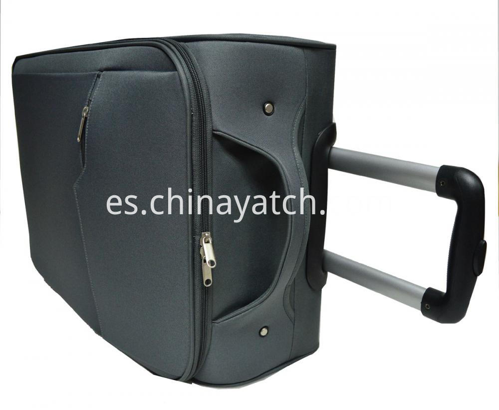 600D Aluminum Trolley Case