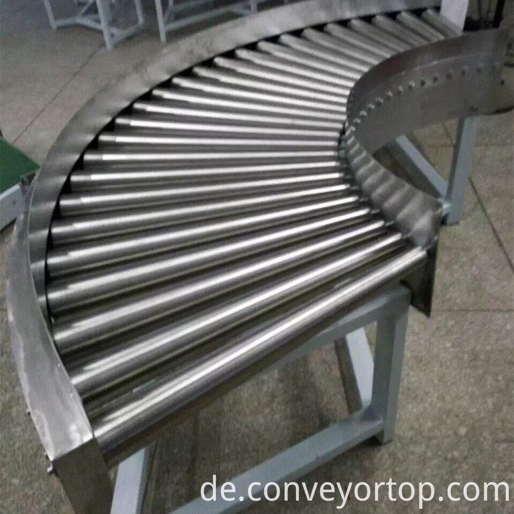 Turning Roller Conveyors