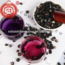 Balck goji berry secado con antioxidante de alta antocianina