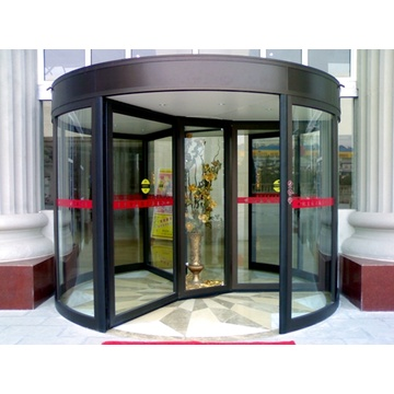 Disabled Access Function for Automatic Revolving Doors