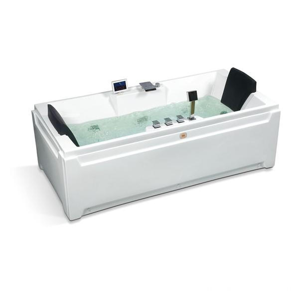 High Quality Rectangle Massage Bathtub