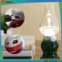 Newest Design Sensor Retro Blowing Control LED Night Lamp