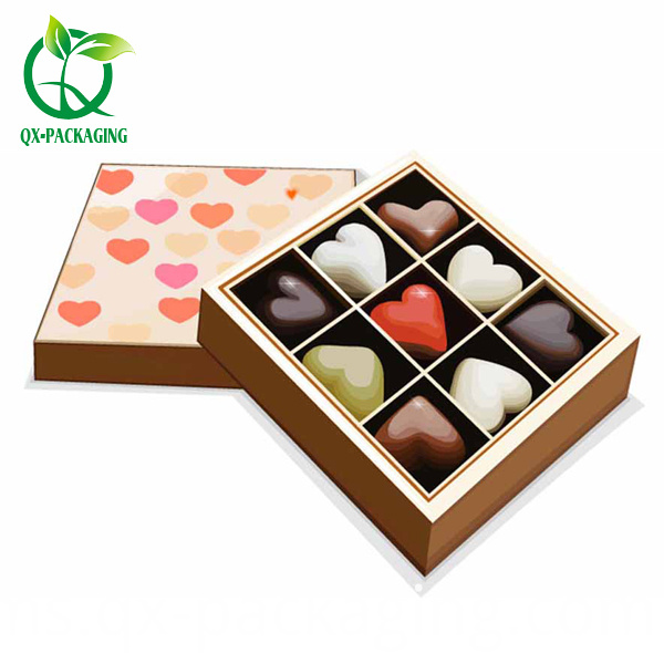 Chocolate gift boxes packaging