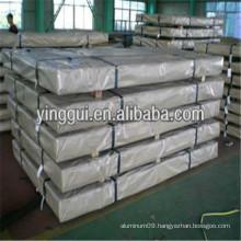 5050 5050A 5051 aluminum alloy plain diamond sheet / plate china wholesale