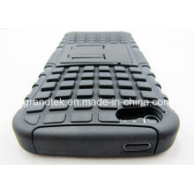 PC + TPU Hybrid Shockproof Kickstand Cell Phone Case for iPhone 6