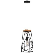 Single metal Material black Hanging Pendant Lamp