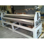 ISO Plastic Auxiliary Equipment Steel Plate Rolling Machine
