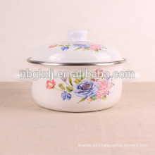 kitchenware flower decals enamel flower pot kitchenware flower decals enamel flower pot