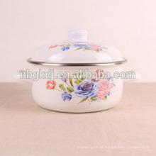 Utensílios de cozinha flor decalques esmalte vaso de flores utensílios de cozinha decalques de flores esmalte vaso de flores
