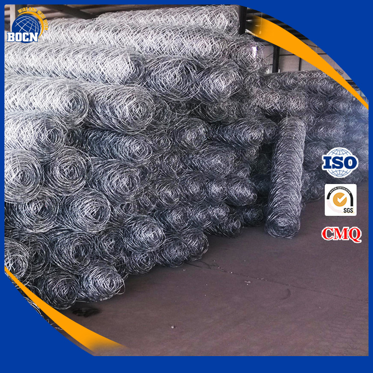 PVC or hot galvanized gabion cages gambions for sale