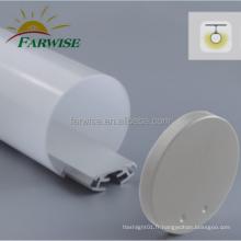 Accessoires de pièces de lampe à LED à lentille de lumière linéaire personnalisée