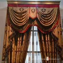 Luxurious ready made curtain/luxury hotel curtains