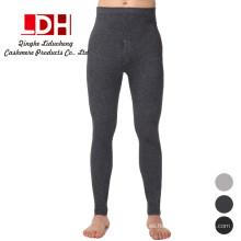 2017 calcetines sin costuras alto elástico calcetines calientes calzas pantalones de cachemira para hombre calientes