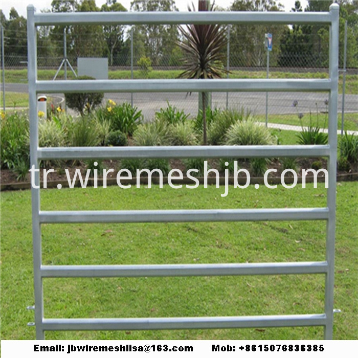 Galvanized Cattle And Horse Fence Panel