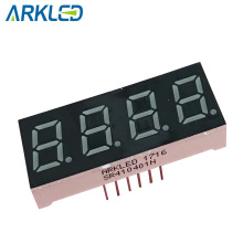 0,4 Zoll 7-Segment-LED-Anzeige in rot