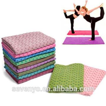 ponto de gel de sílica antiderrapante multicolor yoga mat toalha YT-001