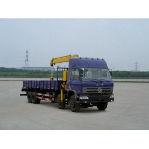 Dongfeng used small city crane trucks for sale