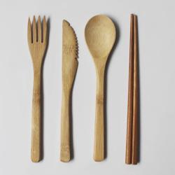 Biodegradable Bamboo Wholesale Tableware Set