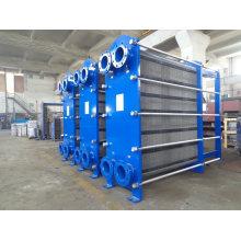 Trocador de calor de placa removível para refrigeração