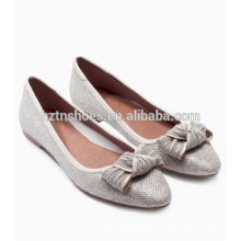 Female Flat Shoes Wholesale Ladies Ballerinas with Bowknot
