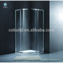 K-543 Europe Style Simple Glass Circular Self-cleaning Glass Shower cabina de ducha con bandeja