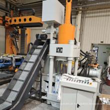 Máquina de prensa briquetadeira hidráulica de sucatas de alumínio