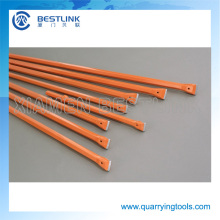 China Manufacturer Rock Cutting Integral Bar Drill Rod