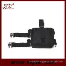 V2 Molle Drop Leg Panel Waist Pouch Bag for Motorcycle Leg Bag Black