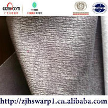 100% polyester burn out velboa fabric  for  blanket