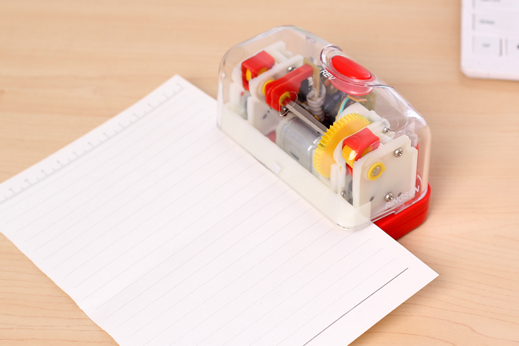 Colorful Transparent Electric Hole Punch