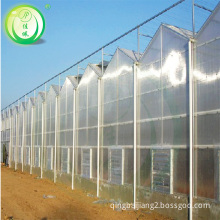 JP agriculture pc sheet greenhouse with smart modern control system for sale