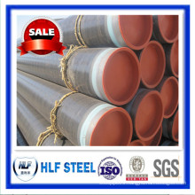 seamless steel pipe/tube natural gas, oil, liquid Steel Pipe 3PE
