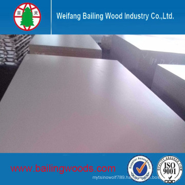 Manufacture 17mm Plain MDF / Melamine Laminated MDF