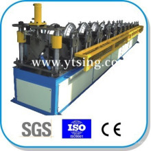 Passed CE and ISO YTSING-YD-6632 PLC Control Roof Ridge Cap Roll Forming Machine