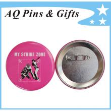 Personal insignia a todo color de la lata de la impresión del estaño (botón badge-55)
