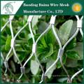 El jardín florece la venta caliente de la cerca del acoplamiento de alambre de acero inoxidable