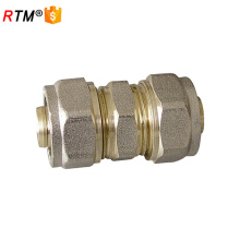 16 equal straight brass pex al pex fittings