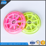 free sample cheap pu skateboard 110m led wheel and inline sakte wheel with 608zz bearing