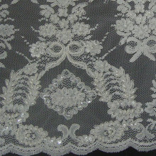 Weding Embroidery Lace Fabric