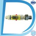 Mini painel de orifício de nitrogênio com fluxômetro de alarme do interruptor