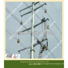 Postes de transmisión de acero eléctrico